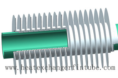 Air Cooled Heat Exchanger Helical Aluminum L/LL/KL Type Fin Tube API Standard 661